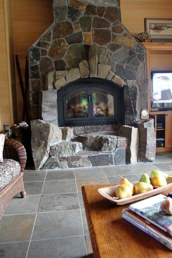 Oregon - Custom Fireplace Elk River, Oregon