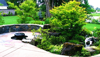 Patio Water Feature - Daichi Landscape
