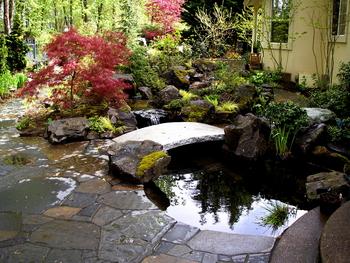 Round Stairway, Round Pond Garden
